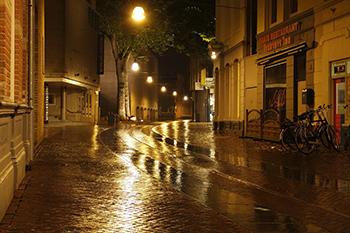 Smart street lighting is LED lights